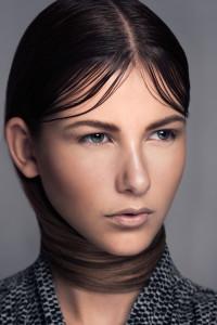 Modellfotografering, mode, hår, smink