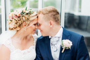 Bröllop, smink, håruppsättning, bröllopssmink